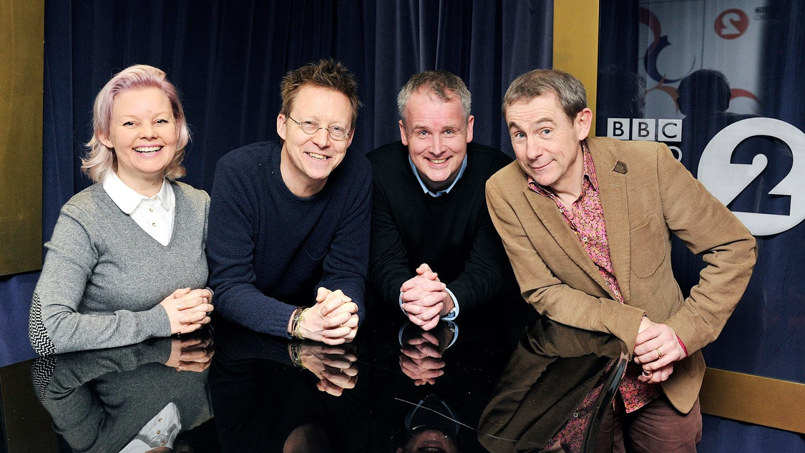 The original BBC Radio 2 Drivetime Dreamteam, including Simon Mayo, Matt Williams and Bobbie Pryor