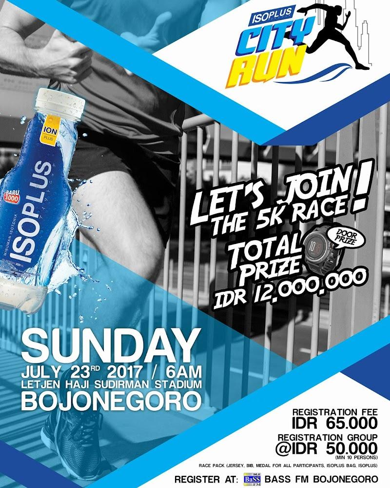 Isoplus City Run - Bojonegoro • 2017
