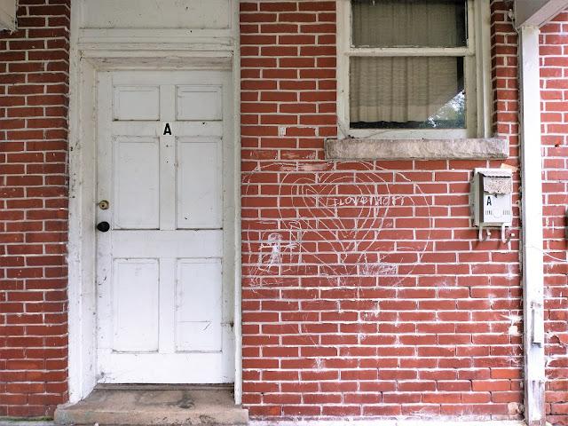 Empty home, full words. Jefferson City, Missouri. July 2021.