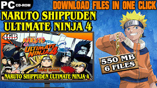 NARUTO SHIPPUDEN ULTIMATE NINJA 4 PC DOWNLOAD