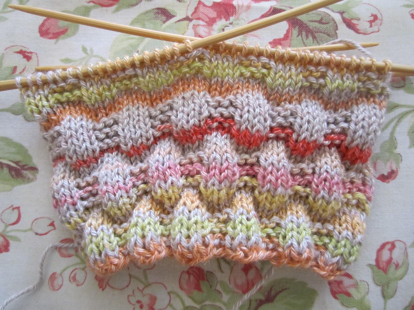 Tageswerke - mein Handarbeitsblog: Baumwollsocken für den Sommer ...