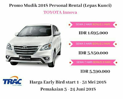 TRAC rent a car
