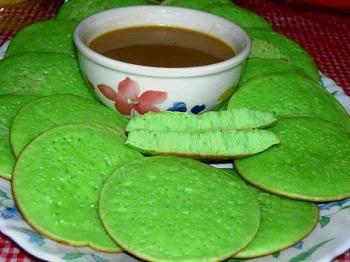 Resep Kue Serabi Kuah Santan Gula Merah Tradisional