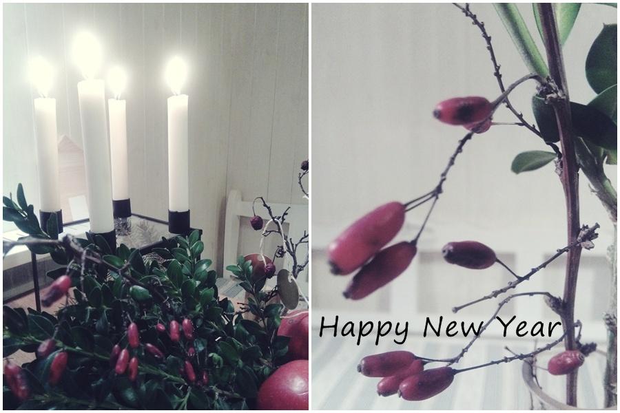 Moja dekoracja na Nowy Rok