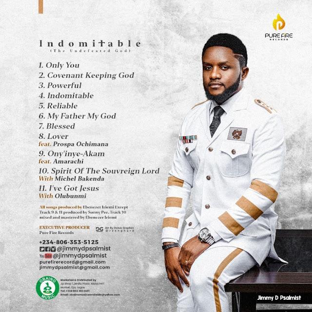 Album: Jimmy D Psalmist – Indomitable