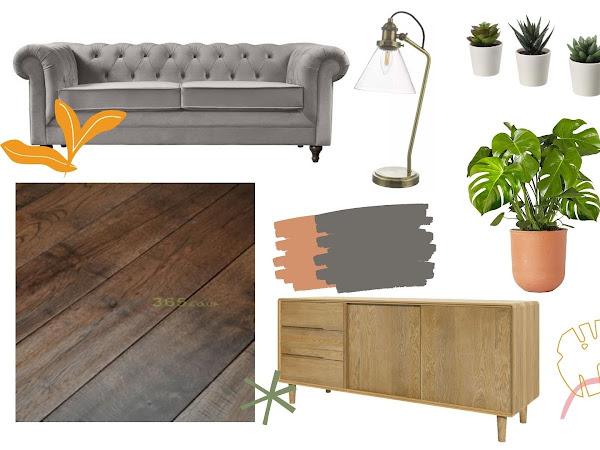 Mid-Century Modern Home Moodboard