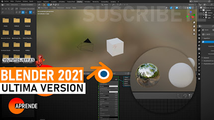 Como Descargar Blender Ultima Version 2021 FULL ESPAÑOL