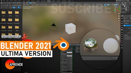 Como Descargar Blender Ultima Version 2021 ESPAÑOL