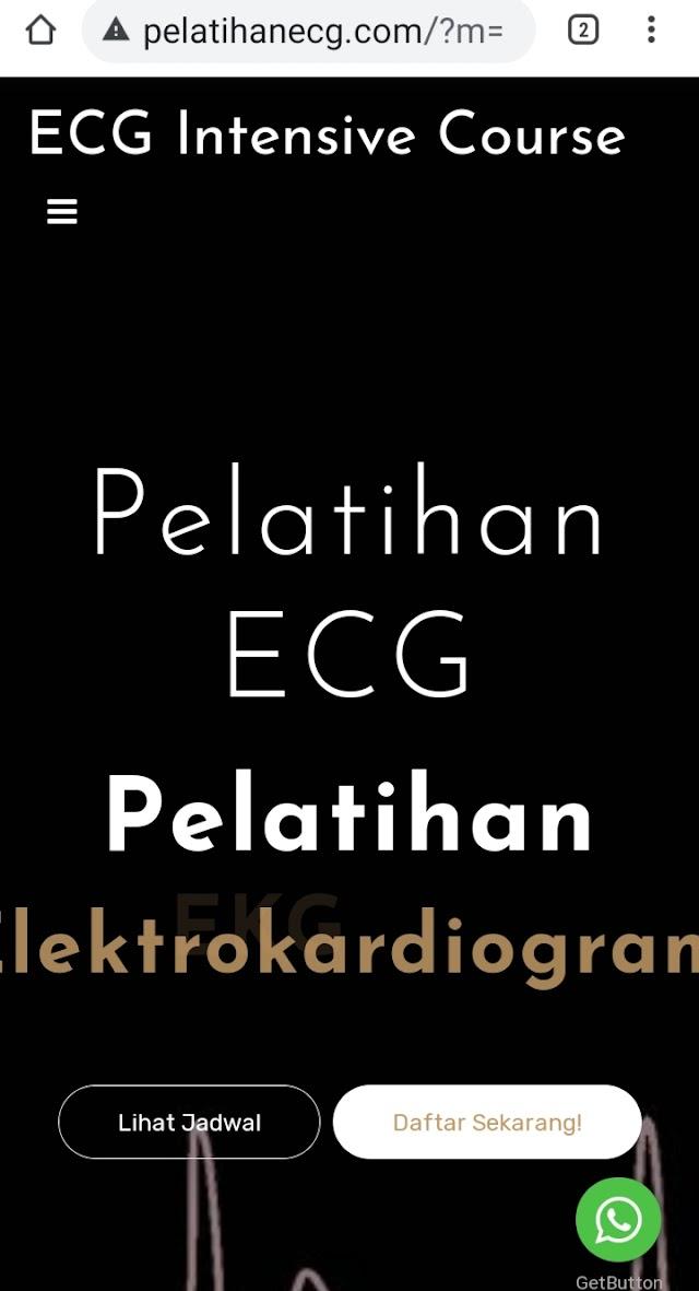 Website Pelatihan EKG 2021