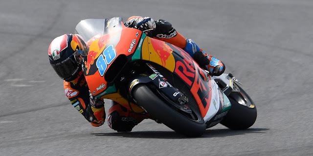 Pebalap Red Bull KTM Ajo, Jorge Martin