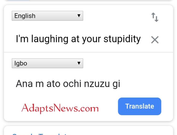 Google Translate Accuracy