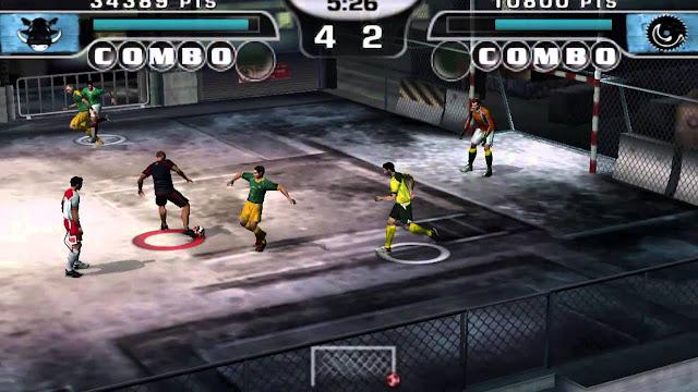 تحميل لعبة كرة الشوارع FIFA Street 2