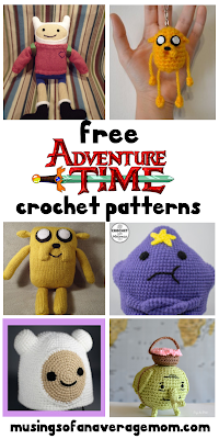 free Adventure time crochet patterns