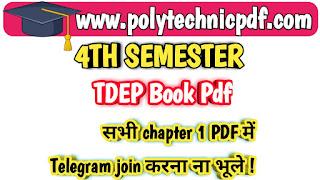 Tdep book pdf