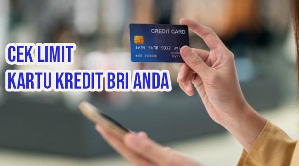 Cara mengetahui limit kartu kredit BRI