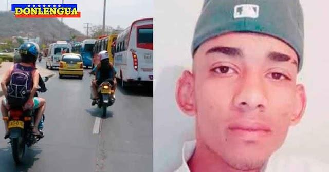 Moto-taxista venezolano asesinado de vario disparos en Colombia