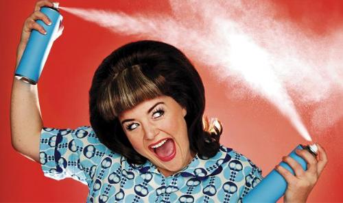 el spray fijador para cabello es malo