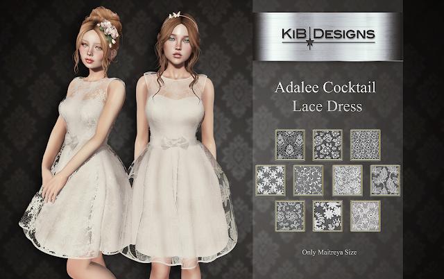KiB Designs - Adalee Cocktail Lace Dress @Trunk Show