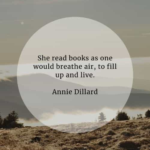 Inspirational reading quotes that'll specify its benefits