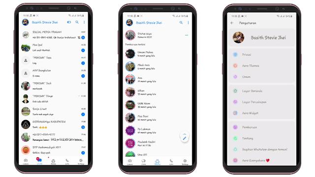 Whatsapp aero terbaru 2020