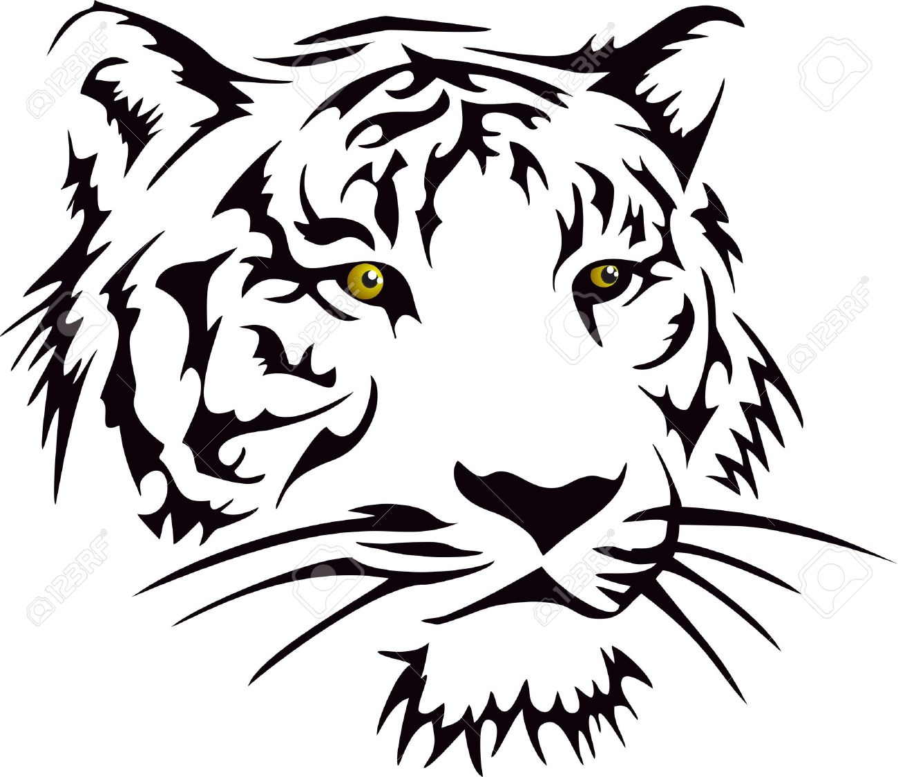 Wild white tiger tattoo tattoo designs ideas gallery share this biocorpaavc