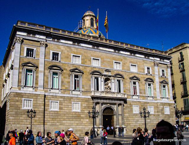 Palau de la Generalitat, sede do Governo da Catalunha, Barcelona