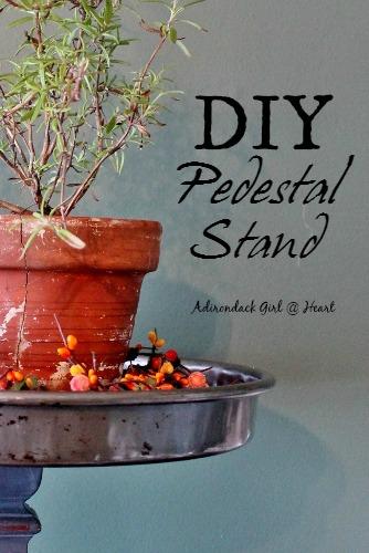 DIY Pedestal Stand