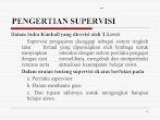 pengertian supervisi menurut para ahli