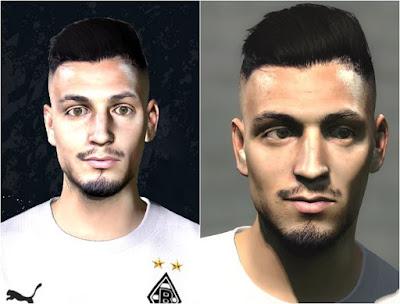 Ramy Bensebaini PES2017 Face by dzgenio