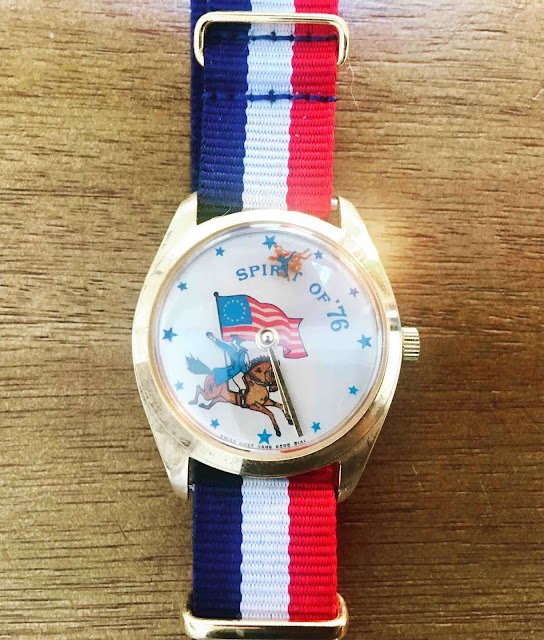 Bicentennial novelty watch