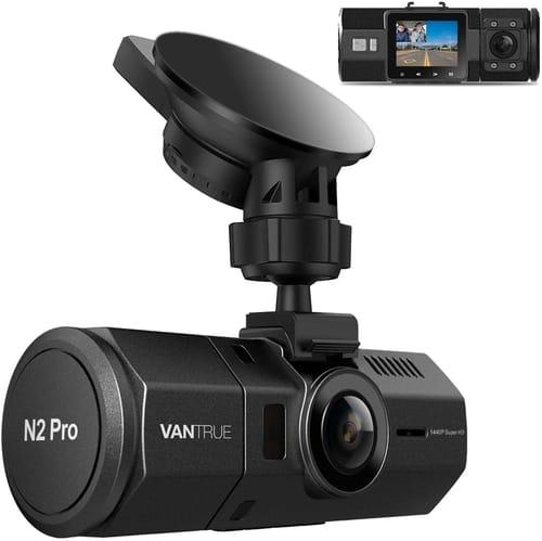 Review Vantrue N2 Pro Uber 2.5K FHD Dual Dash Cam