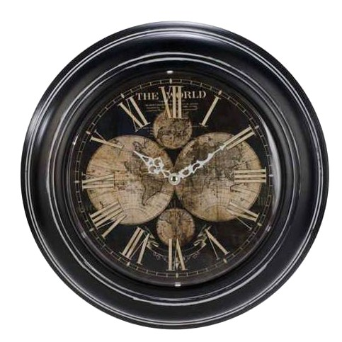 Welcome to inspire on the danforth a great little store for great very elegant vintage world map wall clock gumiabroncs Gallery