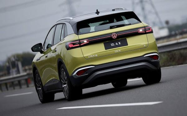 VW ID.4-X faz sucesso na China com jovens e mulheres