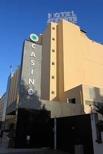 Hotel Algarve Casino, Praia da Rocha, Portugal.