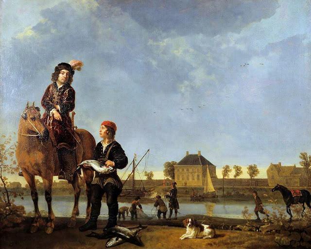 Альберт Кёйп - Портрет Питера де Ровере. ок1650
