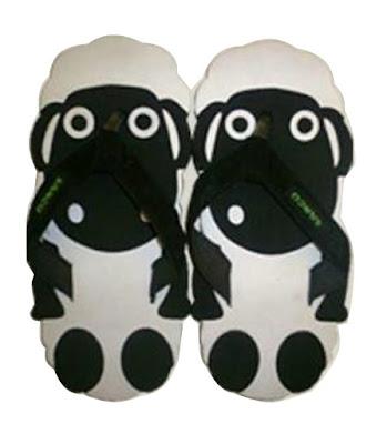 Sandal Lucu Sancu Motif Sheep