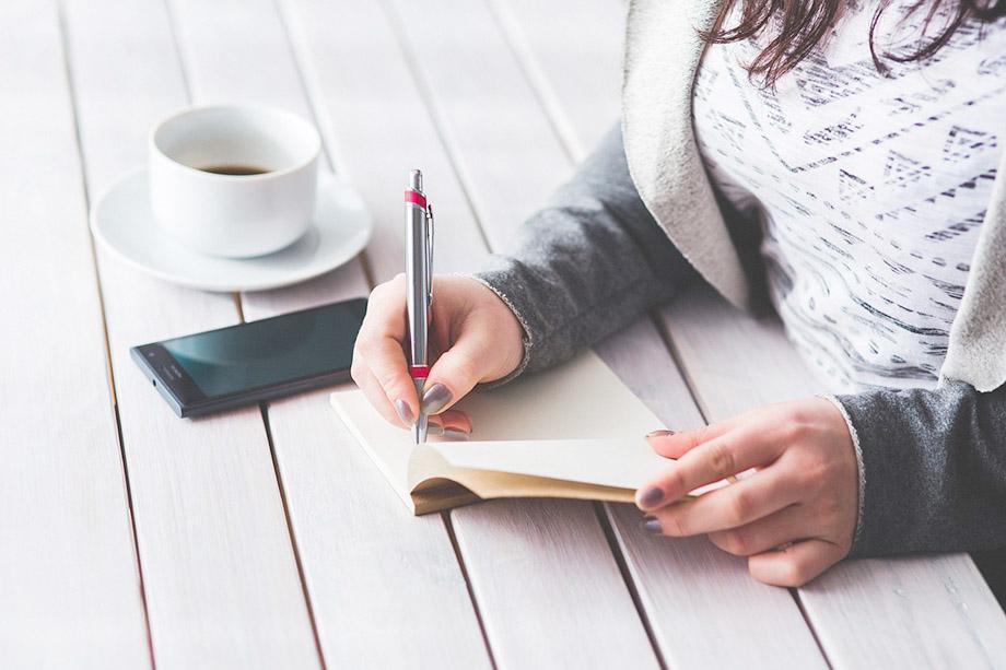 Balancing Work and Play at Home, writing