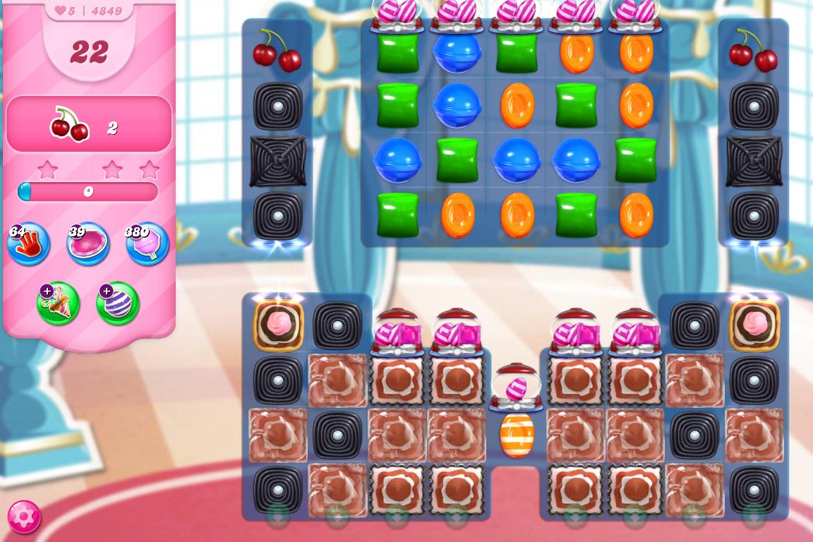 Candy Crush Saga level 4849