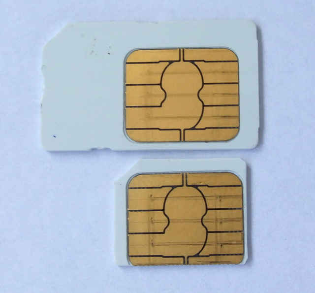 How To Make A Micro Sim Card From Normal