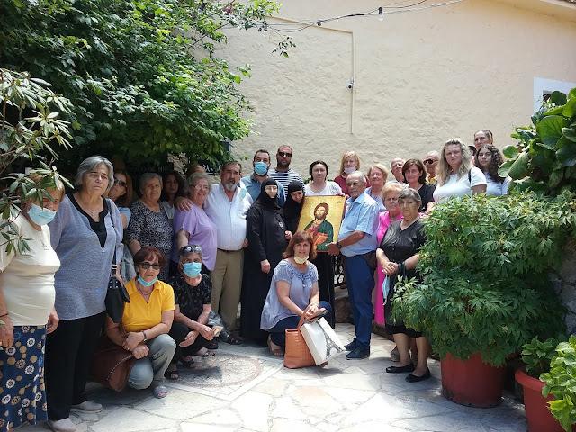 """Προσκύνημα - Μνημόσυνο από τον Πολιτιστικό Σύλλογο Άργους """"Τελεσιλλα"""" στα Άνω Τρίκαλα Κορινθίας"""