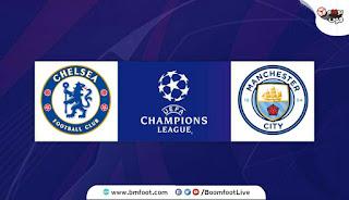 بث مباشر مباراة مانشستر سيتي و تشلسي مباشرة في نهائي دوري ابطال اوروبا