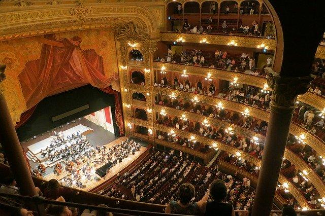 Os instrumentos da orquestra