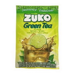 Gói Bột Green Tea Lemon Uống Giải Khát Zuko Hàng Xách Tay Từ Mỹ