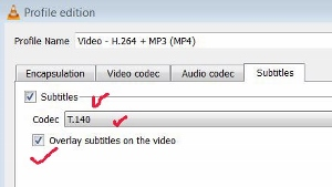 subtitles setting VLC Media Player