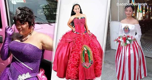 vestidos quinceaños chica mujer fiesta salon vida