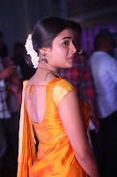 Shalini Pandey in Beautiful Orange Saree Sleeveless Blouse Choli ~  Exclusive Celebrities Galleries 022.JPG