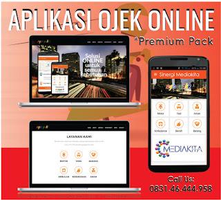 Jual aplikasi ojek online