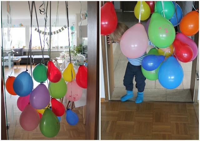 Ballonvorhang Kindergeburtstag Balloons Circus Party