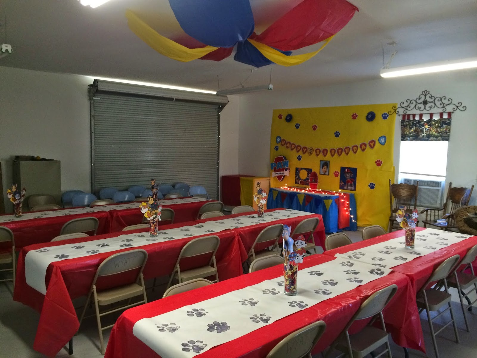 Paw Patrol Party Jacob 39 s Paw Patrol Party