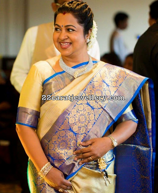 Radhika Diamond Choker Bangles